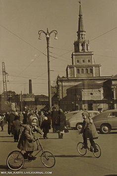 Komsomol Square, Moscow, 1959