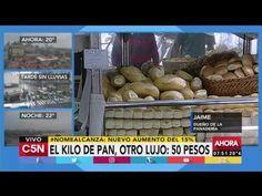 Economía:  El kilo de pan aumentará a 50 pesos