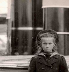 "Grand Duchess Olga Nikolaevna Romanova of Russia on the Polar Star. ""AL"""