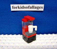 Lego Minifig Accessory Coffee Maker City Town Office | eBay