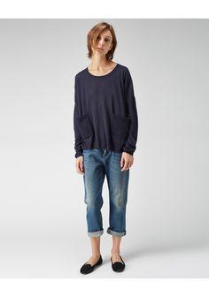 Tsumori Chisato / Contrast Back Pullover | La Garconne