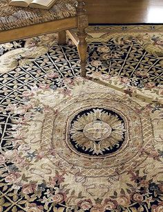 Rich colors, and  meticulous designs, the Classic Gardens Wool Area Rugs is sure to enliven your home and provides comfort underfoot.