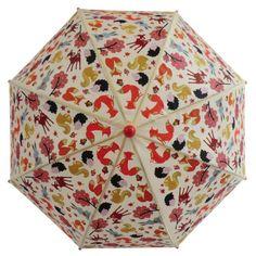 Engeltjes & Draken | Paraplu bosdieren #paraplu #engeltjesendraken #regen #kinderparaplu #umbrella #rain #bosdieren #woodland #forest #bos