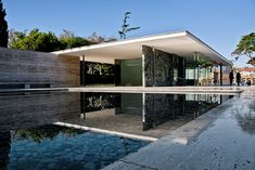 The Barcelona Pavilion, designed by Ludwig Mies van der Rohe, was the German Pavilion for the 1929 International Exposition in Barcelona, Spain.