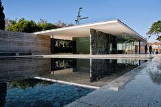 Barcelona Pavilion - Mies van der Rohe by Paul J White, via Flickr
