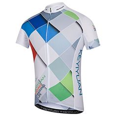Uriah Men's Bicycle Jersey Short Sleeve with Back Zippered Bag Bike Wear, Cycling Wear, Cycling Clothing, Cycling Jerseys, Cycling Outfit, Running Tights, Jersey Shorts, Fitness, Bicycle