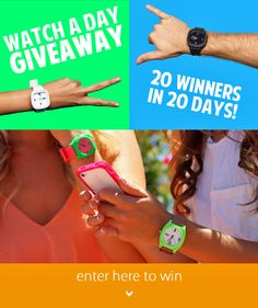NEW! Daily Winner! Win a free Flex Watch for both of us!  https://gleam.io/CELVX-vi77u7
