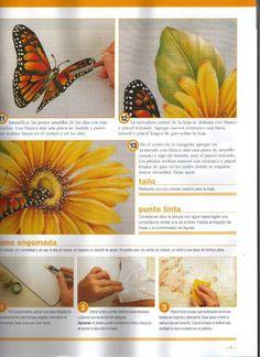 Flor com borboleta 4