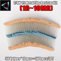 1 Box 10 Ohm Resistance Metal Film Resistor Resistance Assortment Kit Set 30 Kinds Each Price history. Electrolytic Capacitor, Film, Metal, Box, Movie, Snare Drum, Film Stock, Movies, Boxes