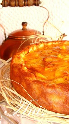 La Cocina de Ani: Tarta muy fácil de manzana Apple Recipes, Sweet Recipes, Cake Recipes, Dessert Recipes, Cooking Time, Cooking Recipes, Healthy Recipes, Flan, Quiches