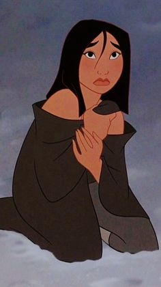 I think people forget that Mulan was accepting of the punishment she would receive once she was discovered. It shows such courage and just how much Mulan has grown.