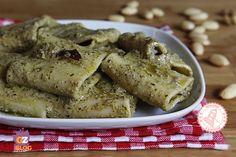 PESTO MANDORLE E OLIVE ricetta primo veloce senza cottura