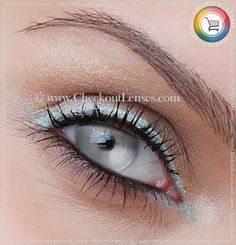 Riddick Silver Crazy eyes 30 day wear - Checkout Lenses