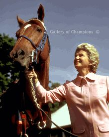 "Penny Chenery Tweedy (born January 27, 1922) is an American sportswoman who owned and raced Secretariat, the 1973 winner of the Triple Crown. I recommend that every girl/woman watch the movie ""Secretariat"". She believed in herself when no one else did."