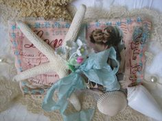 Endearing Beach Girls Lavender Sachet Gift by TheJoyfulHome, $9.00