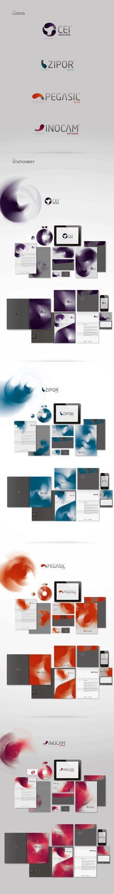 CEI GROUP by NOMAD design bureau, via Behance