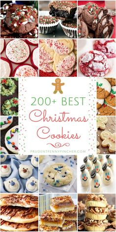 Tis the season for Christmas cookies! These festive cookie recipes are great for a cookie swap, Christmas gift or holiday party. Impress your friends and family with mouth-watering sugar cookies… Brownie Desserts, Oreo Dessert, Mini Desserts, Holiday Desserts, Holiday Baking, Holiday Treats, Holiday Recipes, Dessert Recipes, Best Christmas Cookie Recipes