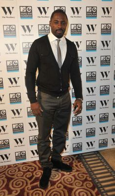 Idris Elba at MTV Staying Alive Foundation party