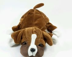 Dream Bulldog Hand Puppet Plush Bulldog Dog #Dream