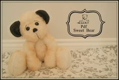 PDF SEWING Sewing Teddy Bear Pattern  by lauracountrystyle on Etsy