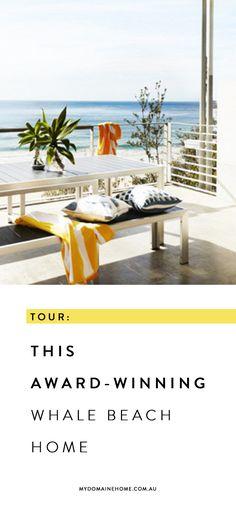 Tour This Award-Winning Whale Beach Home