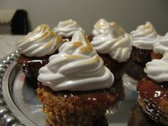 S'mores mini cupcakes. Yumm!
