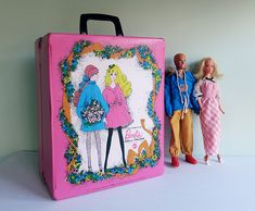 Mattel Toys Of The 1960S | 1968 Mattel World of Barbie Doll Trunk with Barbie, Ken, Clothes and ...