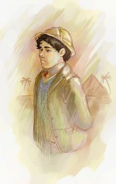 Ramses Emerson by ~sumimasen on deviantART     Shocked that Ramses hasn't misplaced his hat!
