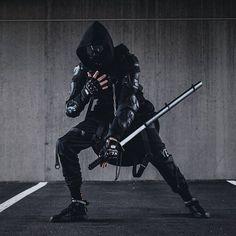 🔥🖤Sick urban ninja fit by urban ninja fit by Mode Cyberpunk, Cyberpunk Aesthetic, Cyberpunk Fashion, Dark Fashion, Urban Fashion, Winter Fashion, Steampunk Fashion, Fashion 2020, Gothic Fashion