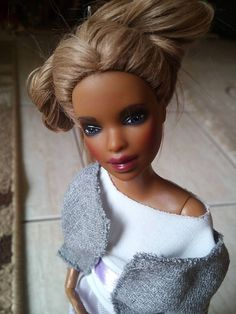 Repaint ooak custom barbie made to move by GerakinaDolls on Etsy