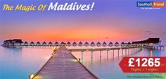 Experience the magic of #Maldives with Southall Travels in a vacation meant to amaze and bedaze! Hurry, call our travel experts today! http://www.southalltravel.co.uk/holidays/indian-ocean/maldives/