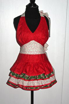 148 Best Christmas Aprons Images In 2013 Christmas
