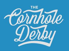 The Cornhole Derby | Fonts Inspirations | The Design Inspiration