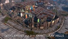 Realistic Settlements in Fallout 4 by Wasteland Angel
