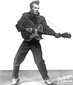 """Ersel Hickey (June 27, 1934 – July 12, 2004), born in Brighton, New York was a rockabilly singer best known for his hit song """"Bluebirds over the Mountain""""."""