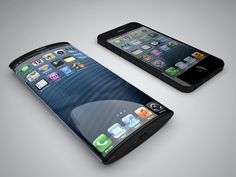 iPhone 6 concept design with curved AMOLED display and no Home button  As release date rumors about the upcoming iPhone continue to pop up, designers look forward to the new smartphone from Apple.