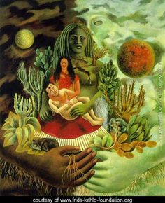 Love's Embrace of the Universe, Earth - Frida Kahlo - www.frida-kahlo-foundation.org
