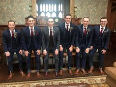 Suits Fit For A 300 Year Old Castle! Pictured is Sligo Native Oisín Mc Neela with his team of groomsmen decked out head to toe in EJ Menswear's finest wedding attire for Oisín and Hollie's big day at the historic Markree Castle on Saturday last! Oisin was donning a fine tweed Magee 3 piece while the lads were looking dapper in their Benetti 3 piece topped off with all the necessary accessories! Best of luck to Hollie & Oisín in their future together from all @ EJ Menswear. Wedding Attire, Wedding Day, Looking Dapper, Head To Toe, Groomsmen, Big Day, 3 Piece, Tweed, Castle