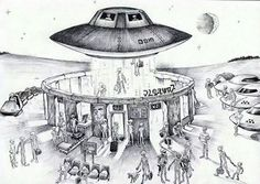 Stonehenge, UFO airport? Probably not. UFO's have been seen and photographed with their own landing gear. UFO's use anti -gravity to propel them by make bending the fabric of space/time and the reaction of that is propulsion at nearly the speed of light.