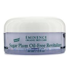 Sugar Plum Oil Free Revitalizer (Normal to Oily Skin) 60ml/2oz by Eminence Organic Skin Care. $63.64. This beauty product is 100% original.. An oil-free skin balancing cream Formulated with Plum Nectar high in phyto-nutrients that combat free radicals Blended with an antioxidant Sage to tone skin Loaded with Watercress to deliver oil-free moisture & support without clogging pores Infused with Green Tea high in antioxidants & vitamins that rejuvenate skin Skin appears n...