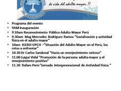 """Luigui Vidal Rivas Director General de la Central Informativa del Adulto Mayor Coordinador de Prensa de Rafam Perú 22-03-2017 Por segunda vez el Polideportivo del CIAM de La Perla,será escenario del Reconocimiento Público """"Adulto Mayor Perú"""",el sábado 8 de abril,siendo este el tercer reconocimiento realizado por la Central Informativa,desde el año 2015. La Central Informativa …"""