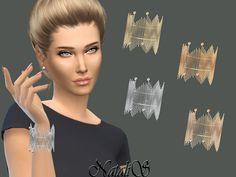 Downloaded Chain Fringe Bracelet by NataliS at TSR via Sims 4 Updates