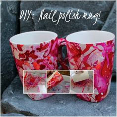 Watercolor nail polish mugs diy gift idea gift ideas watercolor nail polish mugs diy gift idea gift ideas pinterest crafty crafty craft and sharpie solutioingenieria Image collections