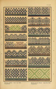 Mordvin patterns (1896)