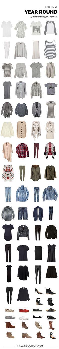My all seasons capsule wardrobe / spring 2015: