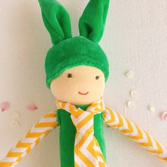 These big bunny dolls are perfect for Easter. Big Bunny, Natural Toys, Waldorf Toys, Imaginative Play, Easter Bunny, Kids Playing, Playroom, Kids Toys, Craft Supplies