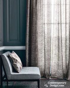 SHEER DELIGHT - modern curtain
