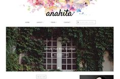 nice Anahita - Feminine WordPress Theme CreativeWork247 - Fonts, Graphics, ...
