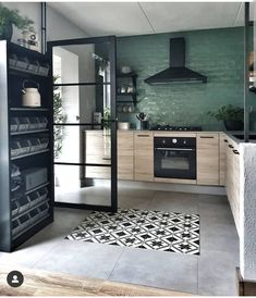 Home Decor Kitchen, Interior Design Kitchen, Home Kitchens, Style At Home, House Rooms, Home Decor Inspiration, Interior Architecture, Home Fashion, Sweet Home