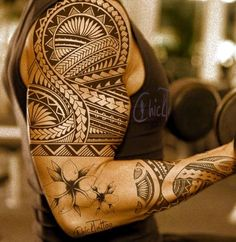 Masculine Armband Tattoo Designs for Men (28)